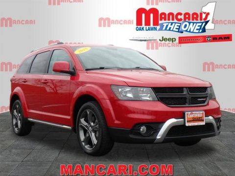 PRE-OWNED 2015 DODGE JOURNEY CROSSROAD AWD