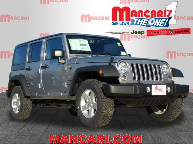 New 2018 JEEP Wrangler Unlimited Unlimited Sport S Sport Utility in