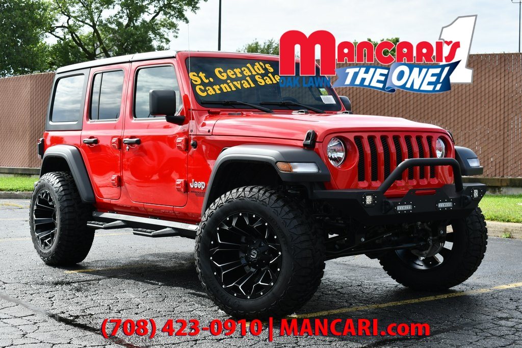 Lifted Jeep Wrangler >> New 2019 Jeep Wrangler Unlimited Sport S 4x4