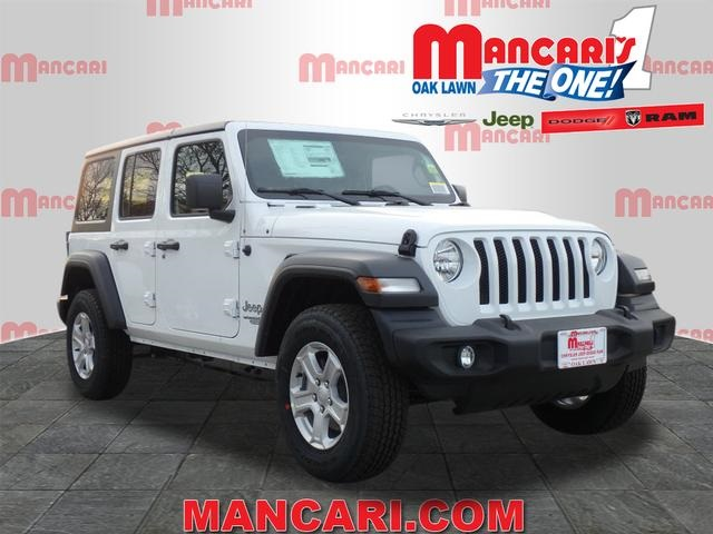 New 2018 JEEP Wrangler Unlimited Sport S Sport Utility in Oak Lawn