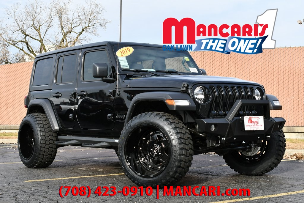 Jeep Wrangler Lift Kits >> New 2019 Jeep Wrangler Unlimited Sport Altitude 4x4