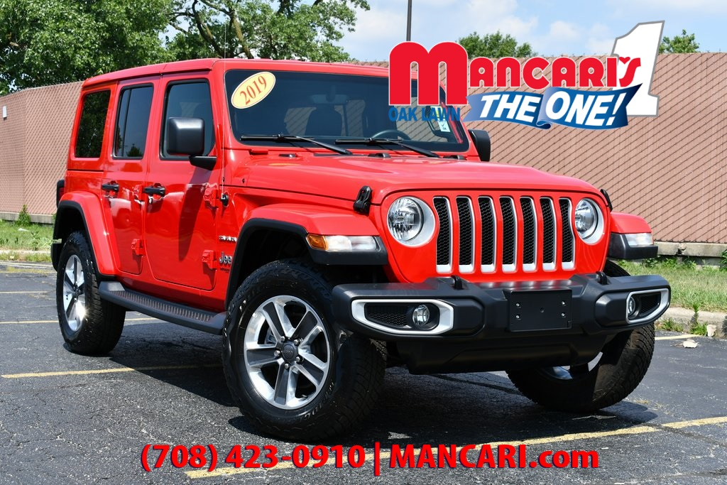 Pre-Owned 2019 Jeep Wrangler Unlimited Sahara - 4X4 REMOTE START BACKUP CAMERA