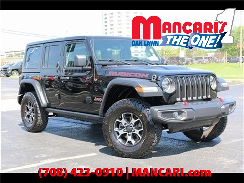 Jeep Certified Pre-Owned >> Certified Pre Owned 2018 Jeep Wrangler Unlimited Rubicon 4x4 One