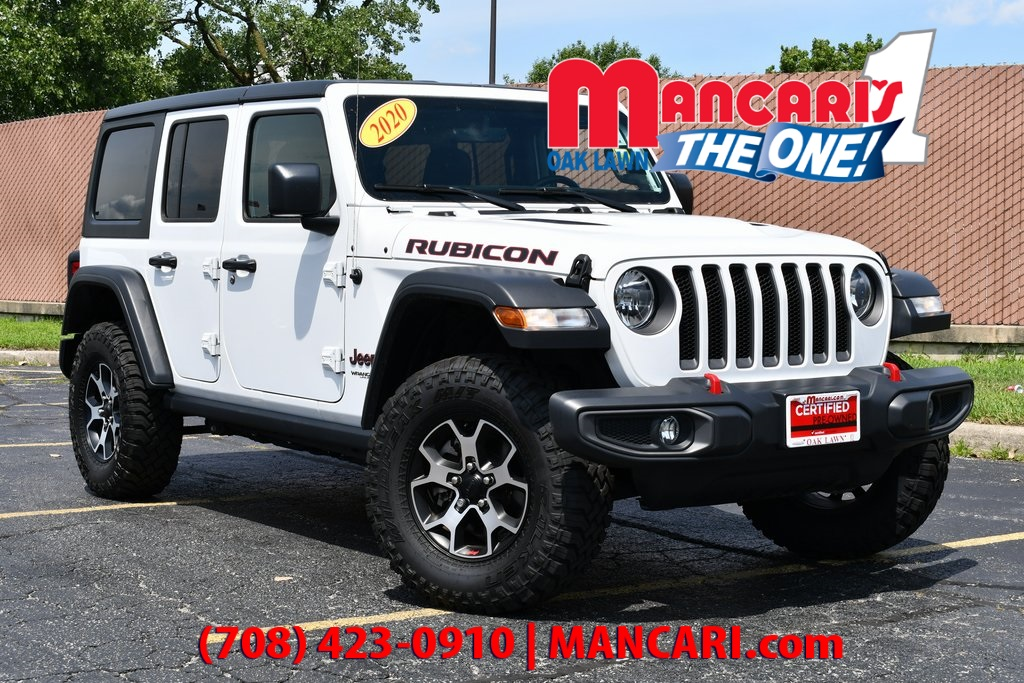 Certified Pre-Owned 2020 Jeep Wrangler Unlimited Rubicon - CERTIFIED 4X4 ONE OWNER REMOTE