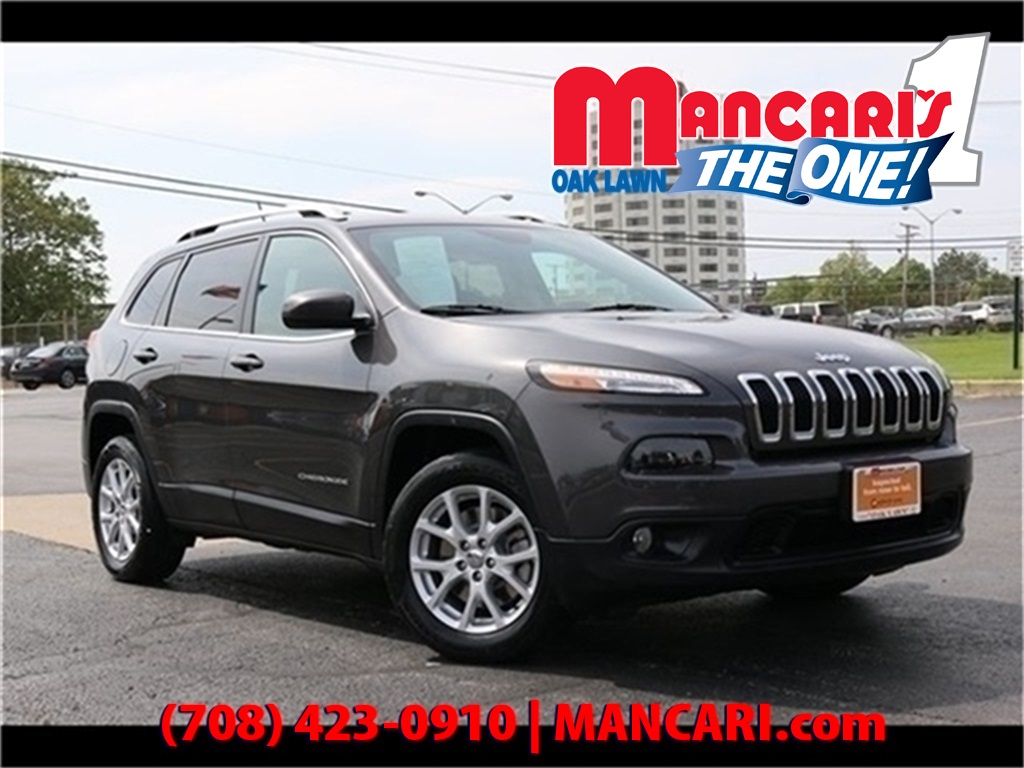 Jeep Certified Pre Owned >> Certified Pre Owned 2016 Jeep Cherokee Latitude One Owner Backup