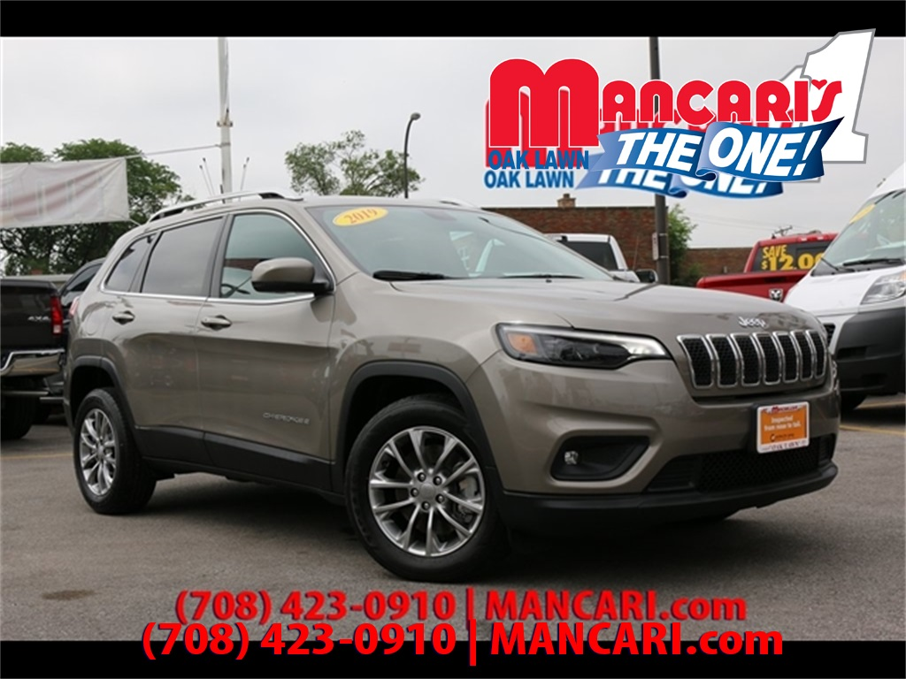 Certified Pre-Owned 2019 Jeep Cherokee Latitude Plus - BlueTooth Blind Spot Sensor