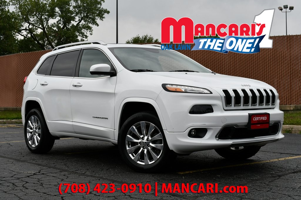 Certified Pre-Owned 2017 Jeep Cherokee Overland - ONE OWNER 4X4 NAVIGATION SUNROOF