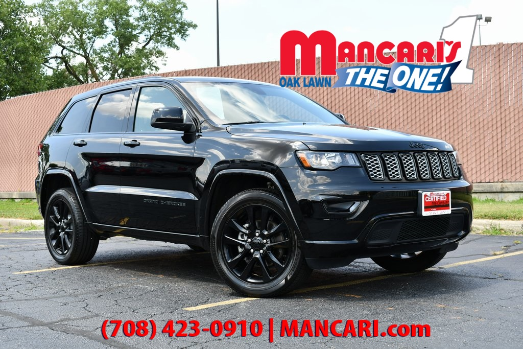 Certified Pre-Owned 2018 Jeep Grand Cherokee Altitude - 4X4 ONE OWNER NAVIGATION SUNROOF BACKUP