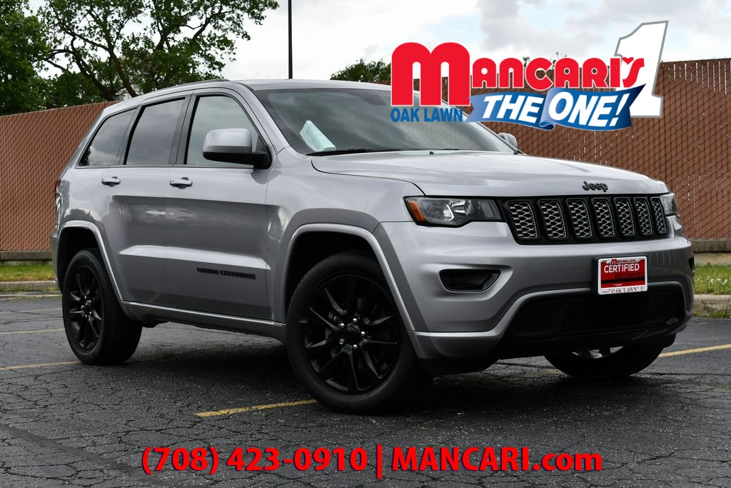 Certified Pre-Owned 2018 Jeep Grand Cherokee Altitude - CERTIFIED 4X4 ONE OWNER REMOTE START