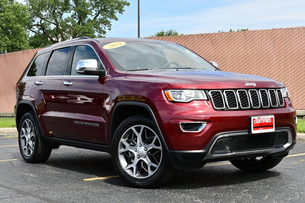 Certified Pre-Owned 2019 Jeep Grand Cherokee Limited - NAVIAGTION SUNROOF BACKUP CAMERA