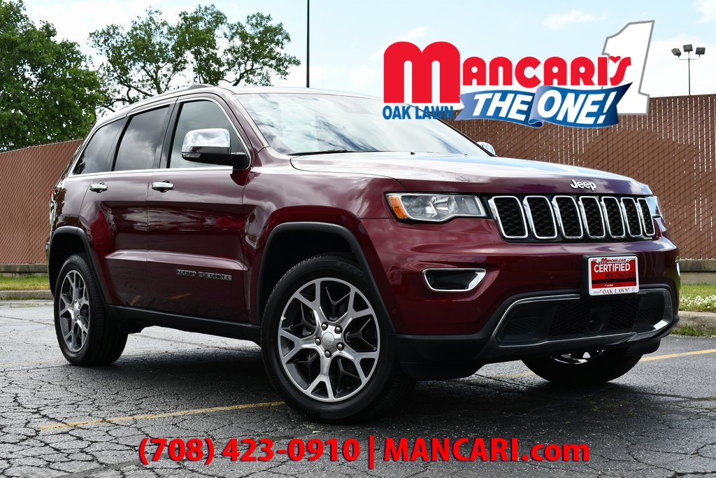 Certified Pre-Owned 2019 Jeep Grand Cherokee Limited - CERTIFIED 4X4 ONE OWNER REMOTE START