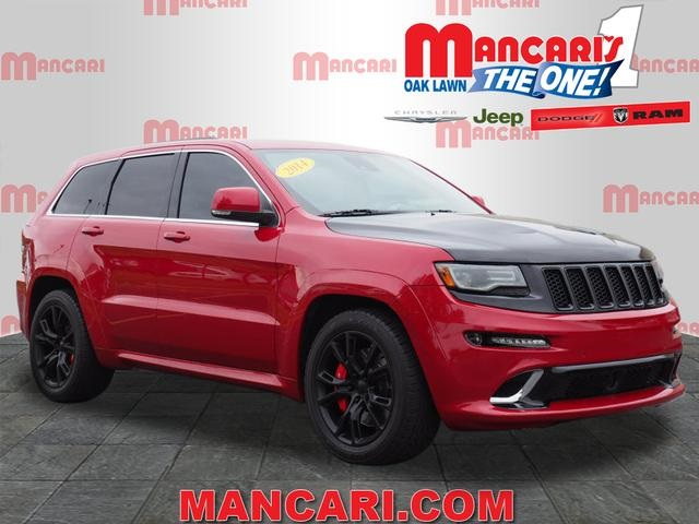 Exceptional Pre Owned 2014 Jeep Grand Cherokee SRT