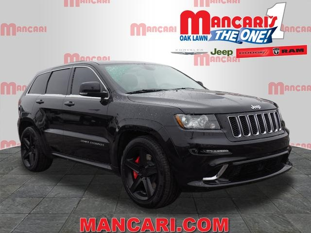 pre-owned 2012 jeep grand cherokee srt8 4d sport utility in oak lawn