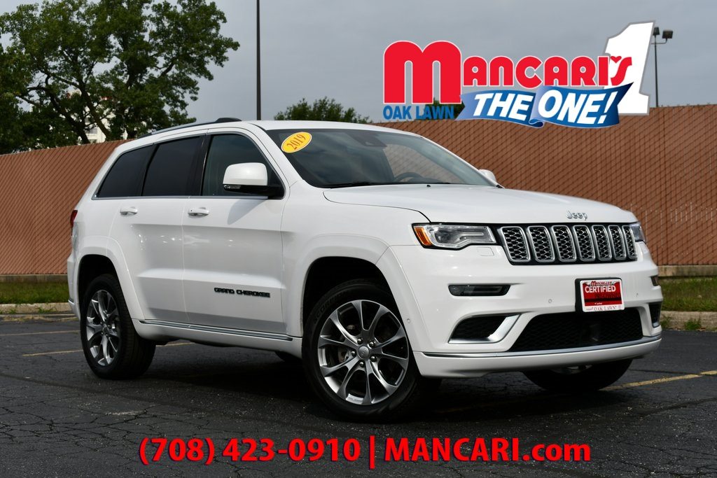 Certified Pre-Owned 2019 Jeep Grand Cherokee Summit - ONE OWNER 4X4 SUNROOF BLIND SPOT SENSOR
