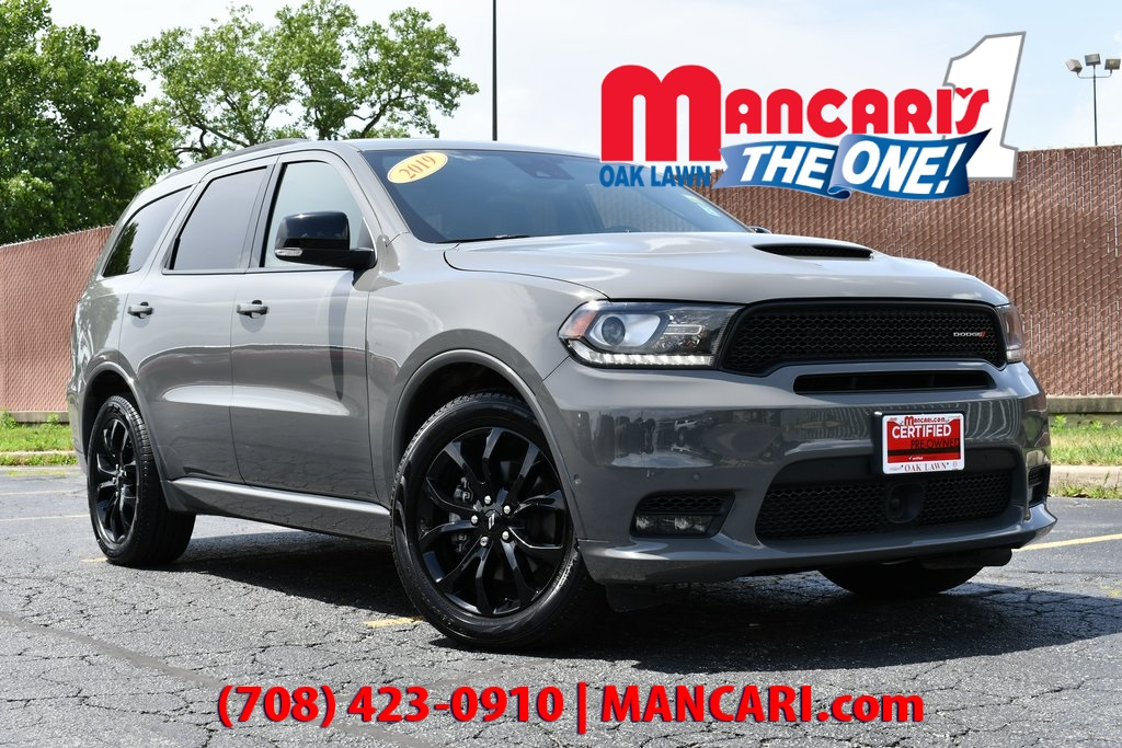 Certified Pre-Owned 2019 Dodge Durango R/T - CERTIFIED ALL WHEEL DRIVE ONE OWNER SUNROOF