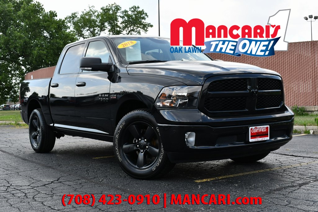 Certified Pre-Owned 2018 Ram 1500 Big Horn - CERTIFIED 4X4 ONE OWNER REMOTE START