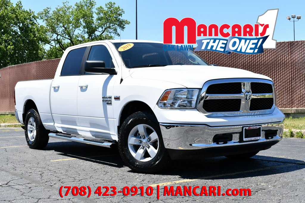 Pre-Owned 2019 Ram 1500 Classic SLT - 4X4 TOW HITCH REMOTE KEYLESS ENTRY