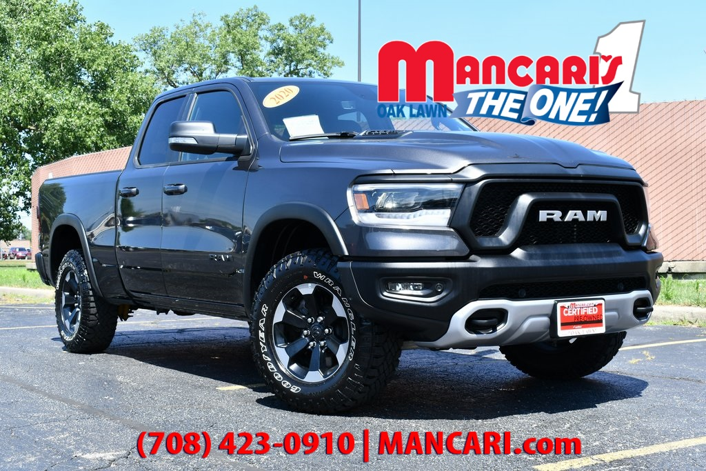Certified Pre-Owned 2020 Ram 1500 Rebel - CERTIFIED 4X4 ONE OWNER REMOTE START TOW H