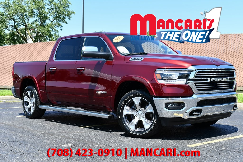 Certified Pre-Owned 2019 Ram 1500 Laramie - 4X4 ONE OWNER NAVIGATION SUNROOF TOW HIT