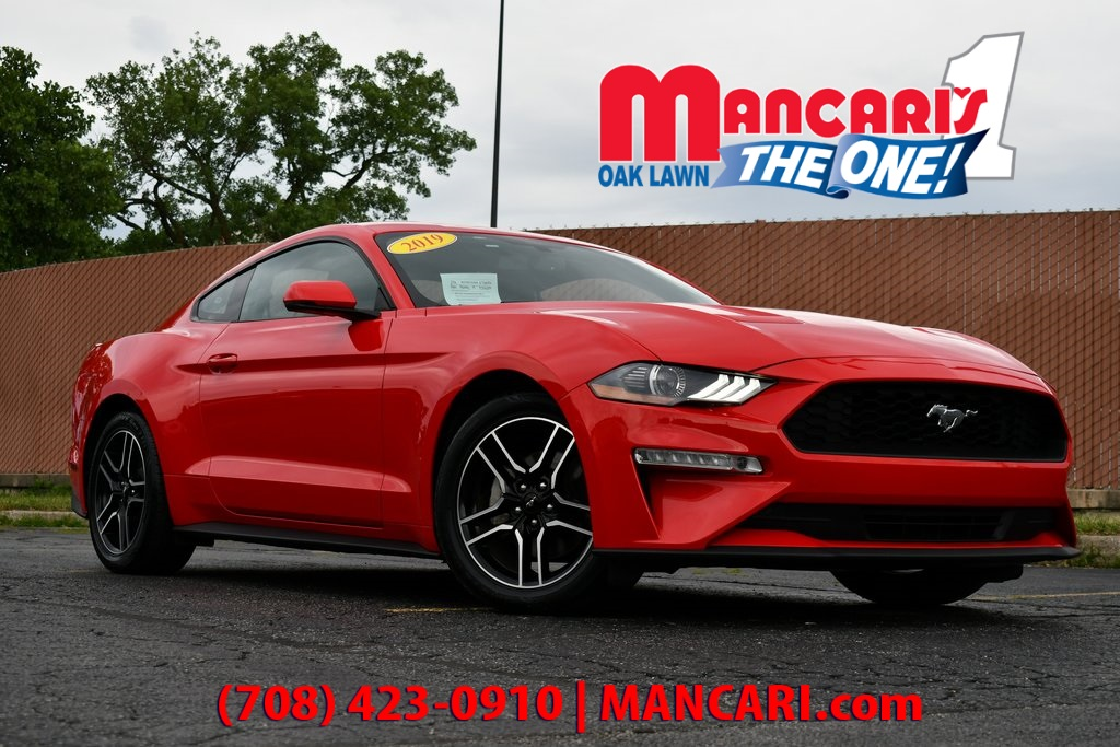 Pre-Owned 2019 Ford Mustang EcoBoost - ONE OWNER BACKUP CAMERA REMOTE START