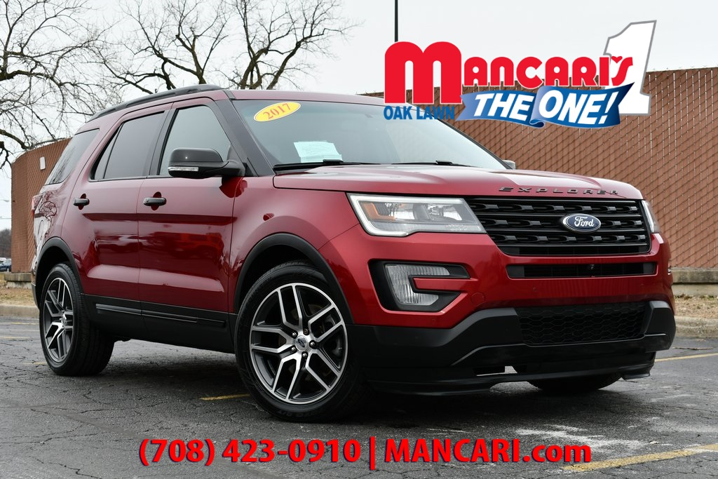 Pre-Owned 2017 Ford Explorer Sport - ONE OWNER 3RD ROW SEATS REMOTE START