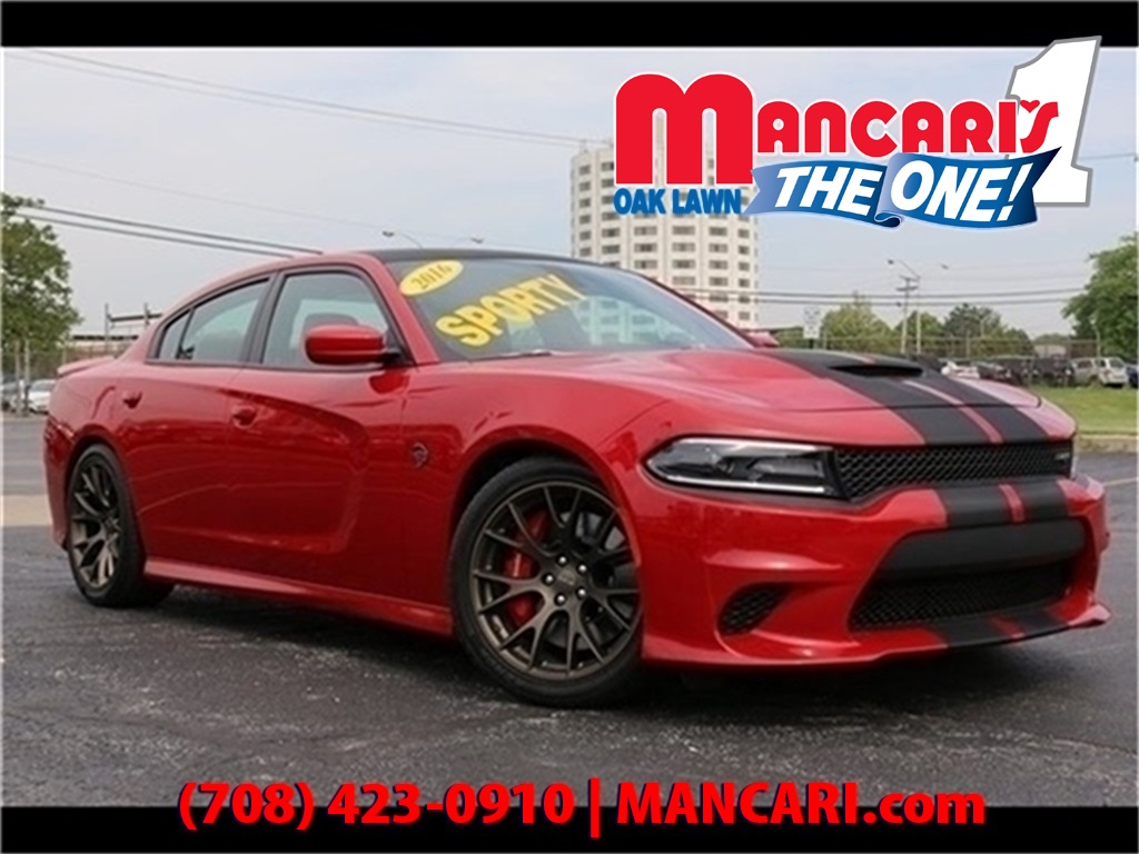Pre-Owned 2016 Dodge Charger SRT Hellcat - BlueTooth Navigation BackUp Camera