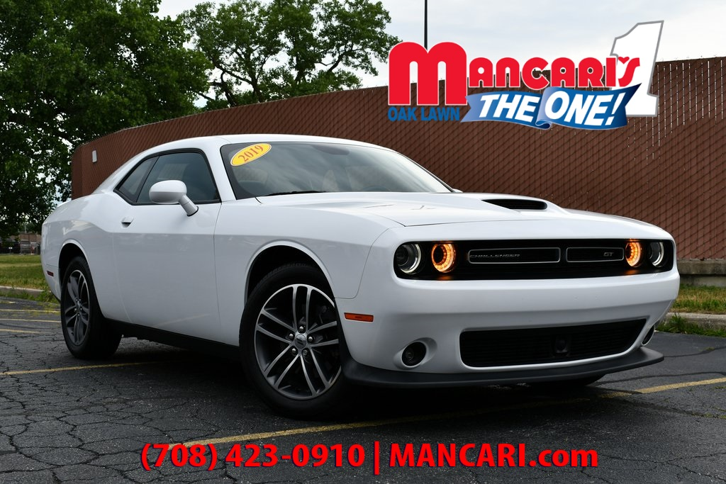 Certified Pre-Owned 2019 Dodge Challenger GT - CERTIFIED AWD ONE OWNER SUNROOF REMOTE START