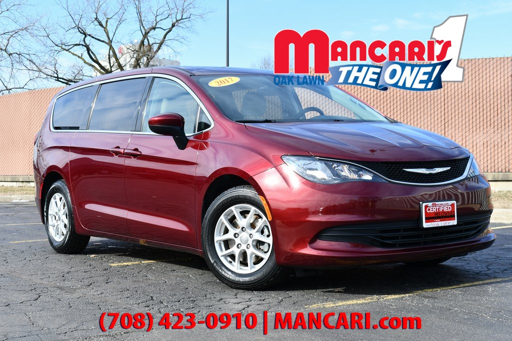 Certified Pre-Owned 2017 Chrysler Pacifica LX - CERTIFIED ONE OWNER 3RD ROW SEATS