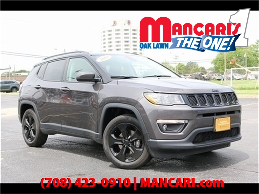 Certified Pre-Owned 2018 Jeep Compass Altitude - Apple Carplay Google Android Auto Beats