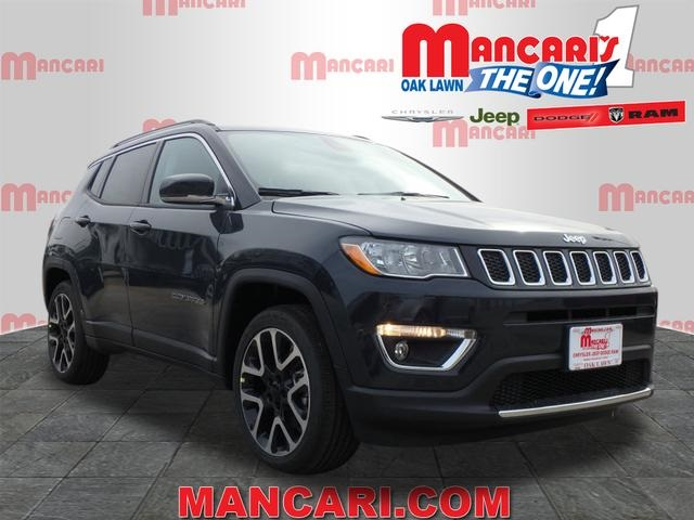 New 2018 JEEP Comp Limited Sport Utility in Oak Lawn #6246J-8 ...