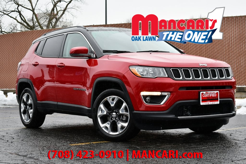 Certified Pre-Owned 2019 Jeep Compass Limited - CERTIFIED 4X4 ONE OWNER REMOTE START