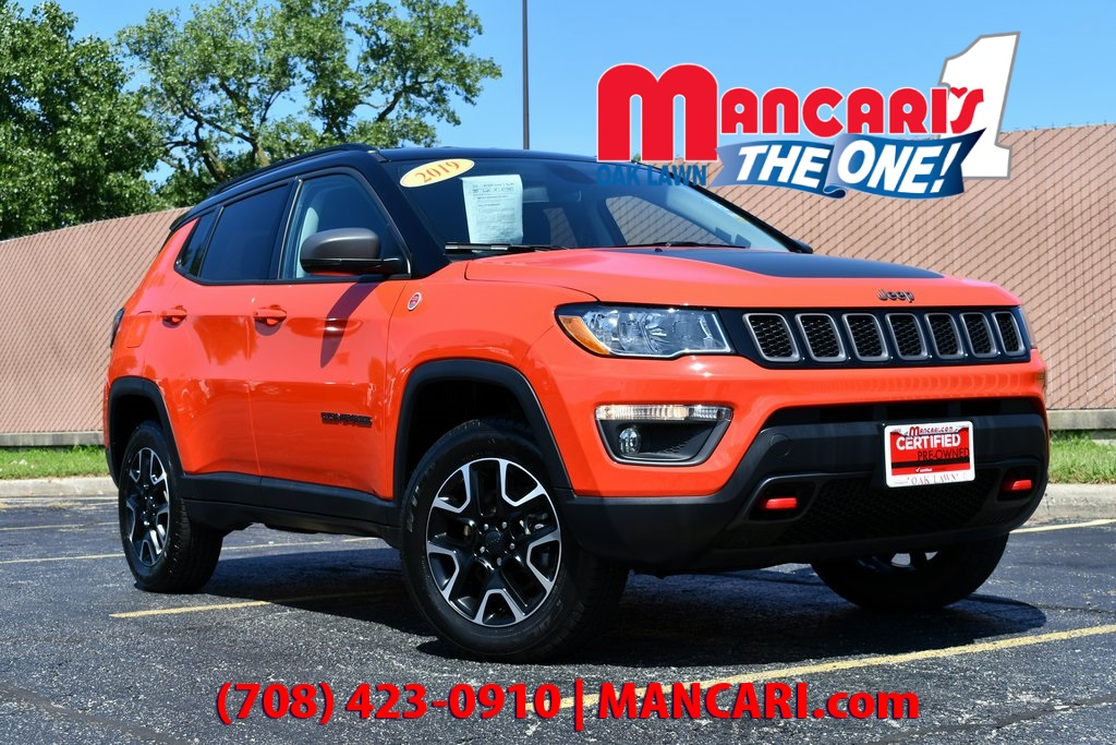 Certified Pre-Owned 2019 Jeep Compass Trailhawk - CERTIFIED 4X4 ONE OWNER REMOTE START