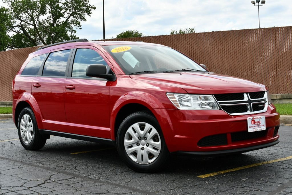 2016 Dodge Journey >> Certified Pre Owned 2016 Dodge Journey Se 3rd Row Seats Remote Keyless Entry Fwd 4d Sport Utility