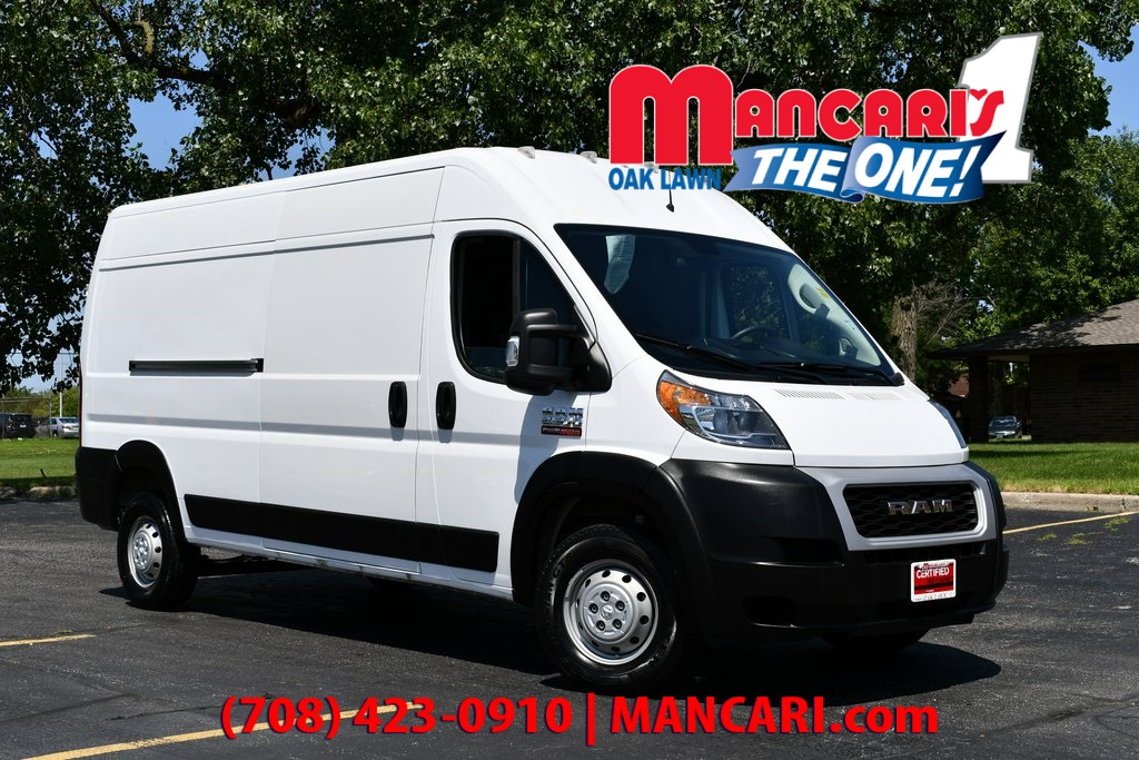 CERTIFIED PRE-OWNED 2019 RAM PROMASTER 2500 HIGH ROOF - REMOTE KEYLESS  ENTRY BLUETOOTH BACKUP FWD 3D CARGO VAN