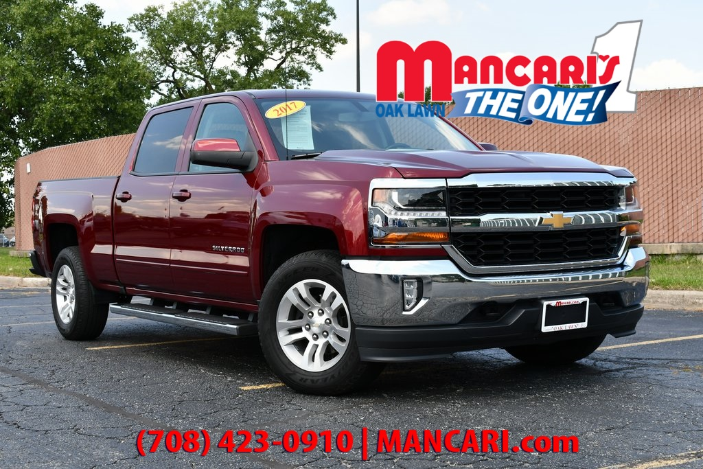 Pre-Owned 2017 Chevrolet Silverado 1500 LT - ONE OWNER REMOTE START TOW HITCH