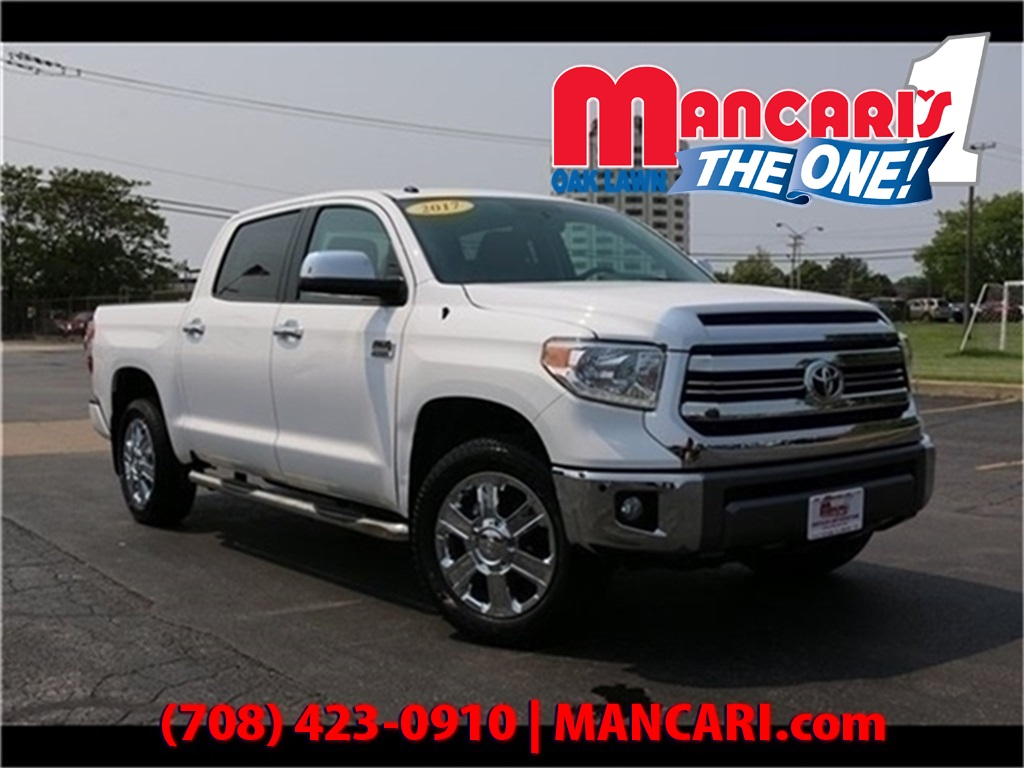 Pre-Owned 2017 Toyota Tundra 1794 Edition - 4X4 Navigation Power MoonRoof