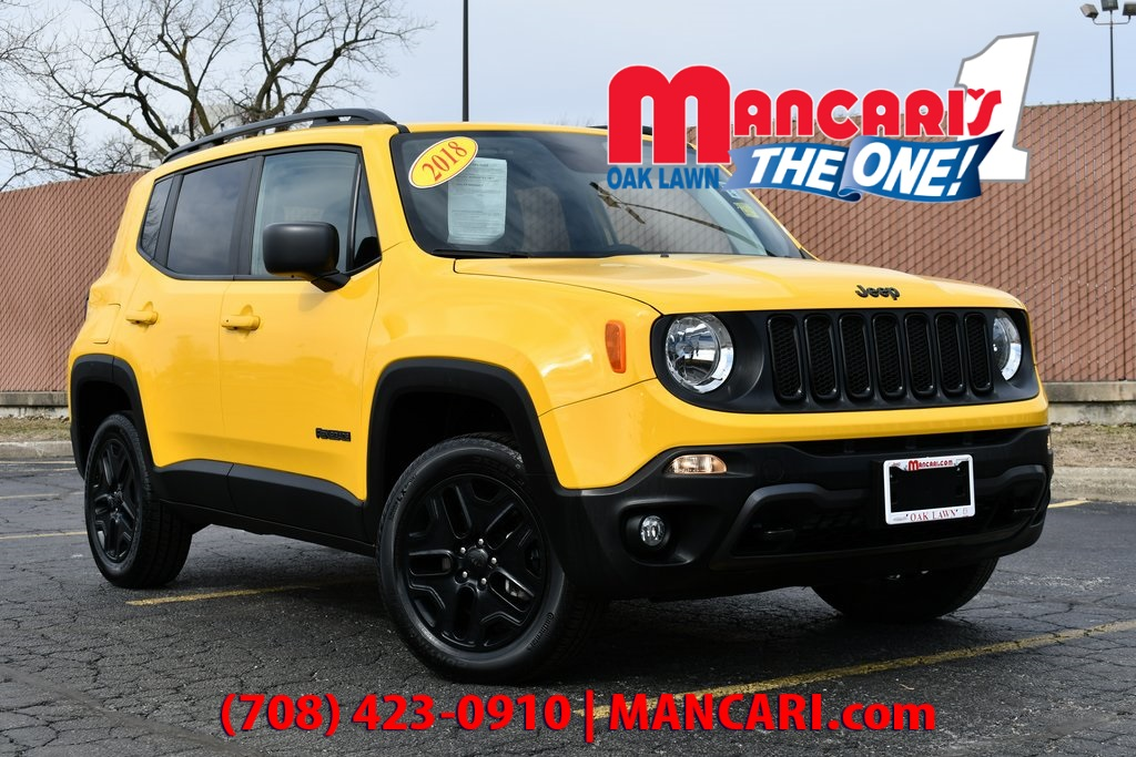 Pre-Owned 2018 Jeep Renegade Sport - 4X4 BACKUP CAMERA SUNROOF REMOTE START