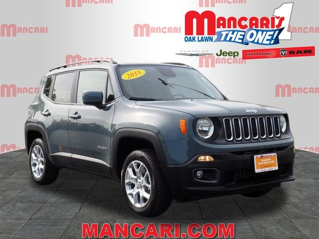 Jeep Certified Pre-Owned >> Certified Pre Owned 2018 Jeep Renegade Latitude 4d Sport Utility In