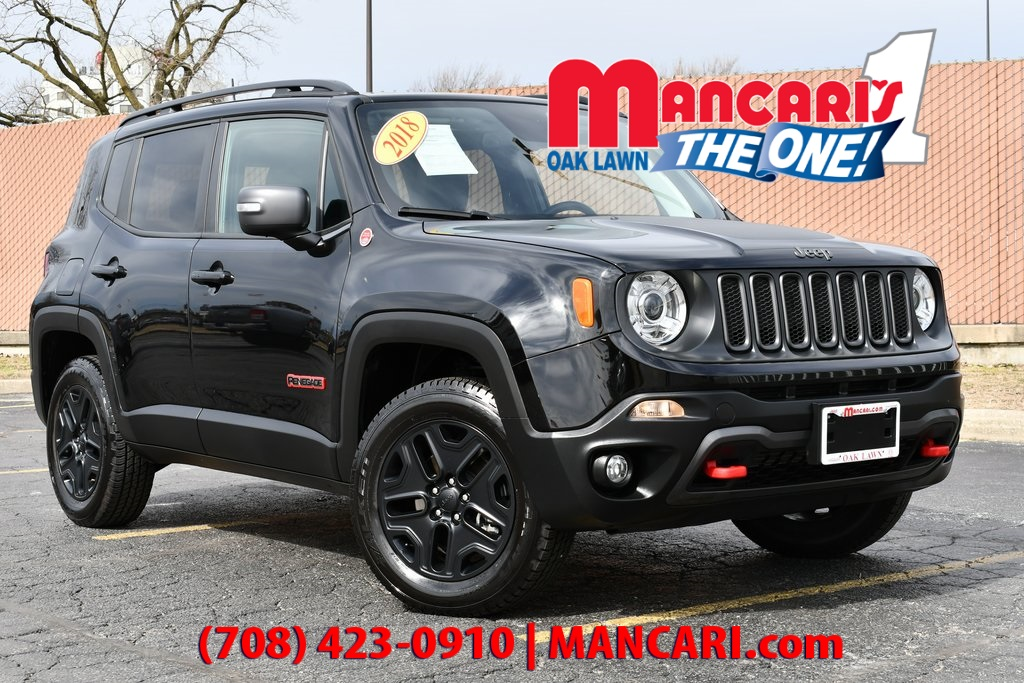 Pre-Owned 2018 Jeep Renegade Trailhawk - 4X4 REMOTE START BACKUP CAMERA