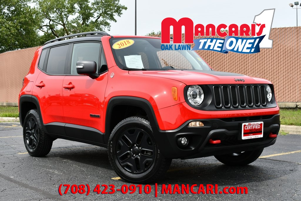 Certified Pre-Owned 2018 Jeep Renegade Trailhawk - ONE OWNER 4X4 NAVIGATION