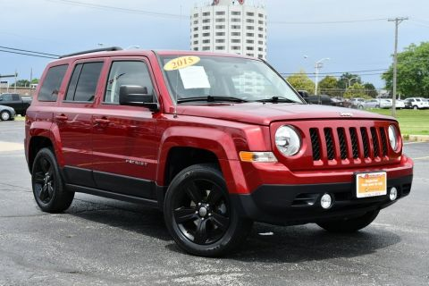 Certified Pre-Owned 2015 Jeep Patriot High Altitude - REMOTE KEYLESS ENTRY SUNROOF BLACK