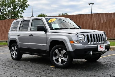 Certified Pre-Owned 2017 Jeep Patriot High Altitude - 4X4 ONE OWNER SUNROOF