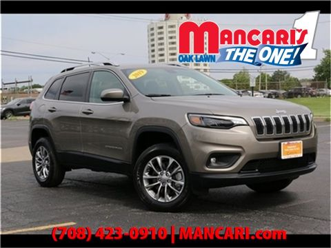 Certified Pre-Owned 2019 Jeep Cherokee Latitude Plus - 4X4 SunRoof Remote KeyLess Entry