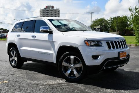 Certified Pre-Owned 2016 Jeep Grand Cherokee Limited - 4X4 ONE OWNER SUNROOF LEATHER SEATS