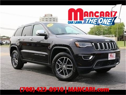 Certified Pre-Owned 2018 Jeep Grand Cherokee Limited - One Owner Apple CarPlay Google Android A