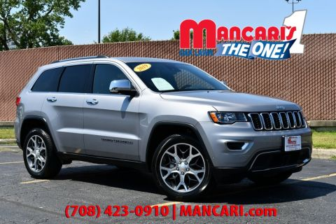 Certified Pre-Owned 2019 Jeep Grand Cherokee Limited - 4X4 NAVIGATION SUNROOF HEATED SEATS