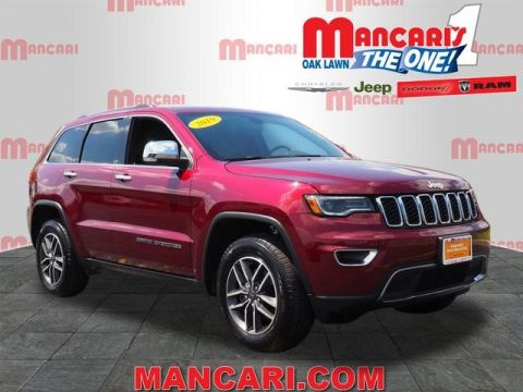 Certified Pre-Owned 2019 Jeep Grand Cherokee Limited - 4X4 ONE OWNER NAVIGATION SUNROOF