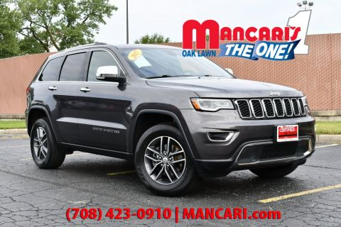 Certified Pre-Owned 2017 Jeep Grand Cherokee Limited - 4X4 NAVIGATION BLUETOOTH SUNROOF