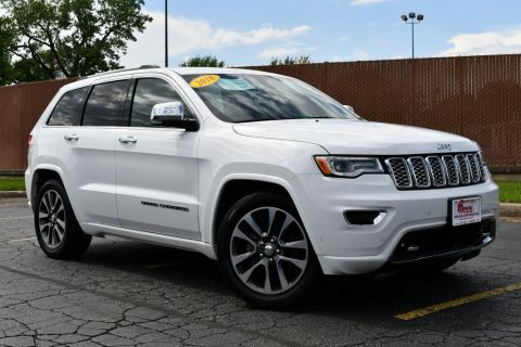 Certified Pre-Owned 2018 Jeep Grand Cherokee Overland - 4X4 ONE OWNER NAVIGATION