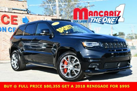 New 2018 JEEP Grand Cherokee SRT - BUY FULL PRICE $80,355 GET 2018 RENEGADE FOR